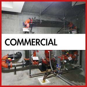commercial fire sprinklers